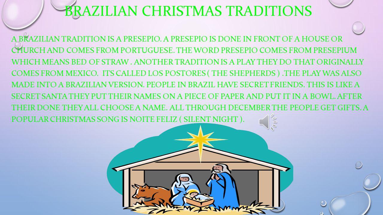 Brazil Christmas Traditions.A Brazilian Christmas Ppt Download
