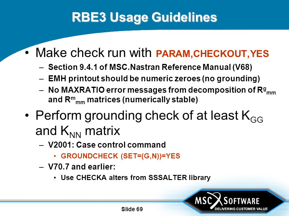 rbes and mpcs in msc nastran ppt video online download rh slideplayer com