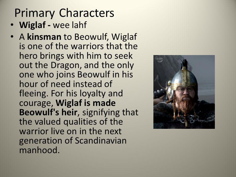 beowulf and wiglaf