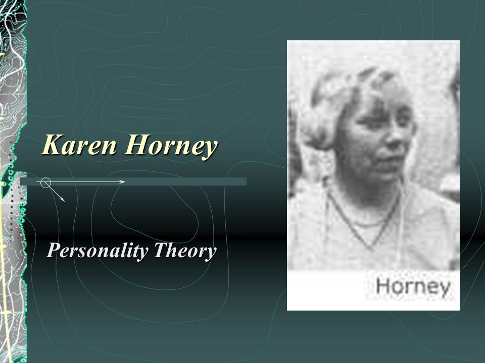 karen horney research paper Karen horney (1885-1952), an early follower of freud, was trained in berlin in 1932, she relocated to chicago to become associate director of the newly formed chicago institute for psychoanalysis several years later, she joined the new york psychoanalytic institute.