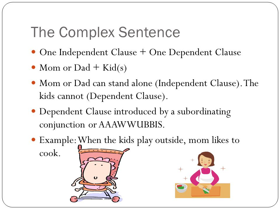 Meet the Sentence Structure Family - ppt video online download