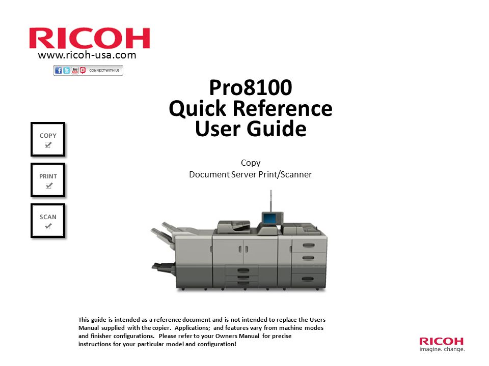 document server print scanner ppt download rh slideplayer com Ricoh Printer Troubleshooting Ricoh Copiers and Printers