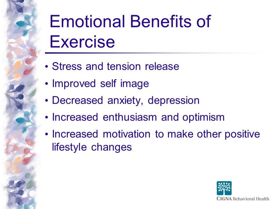 Emotional Benefits of Exercise