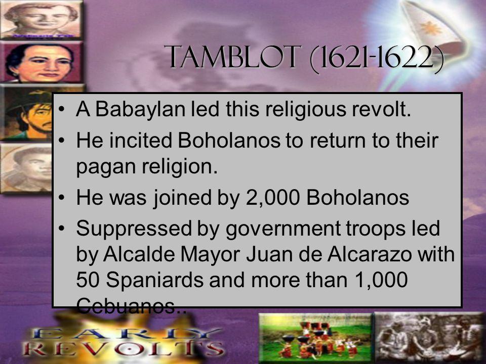Bancao revolt 1622