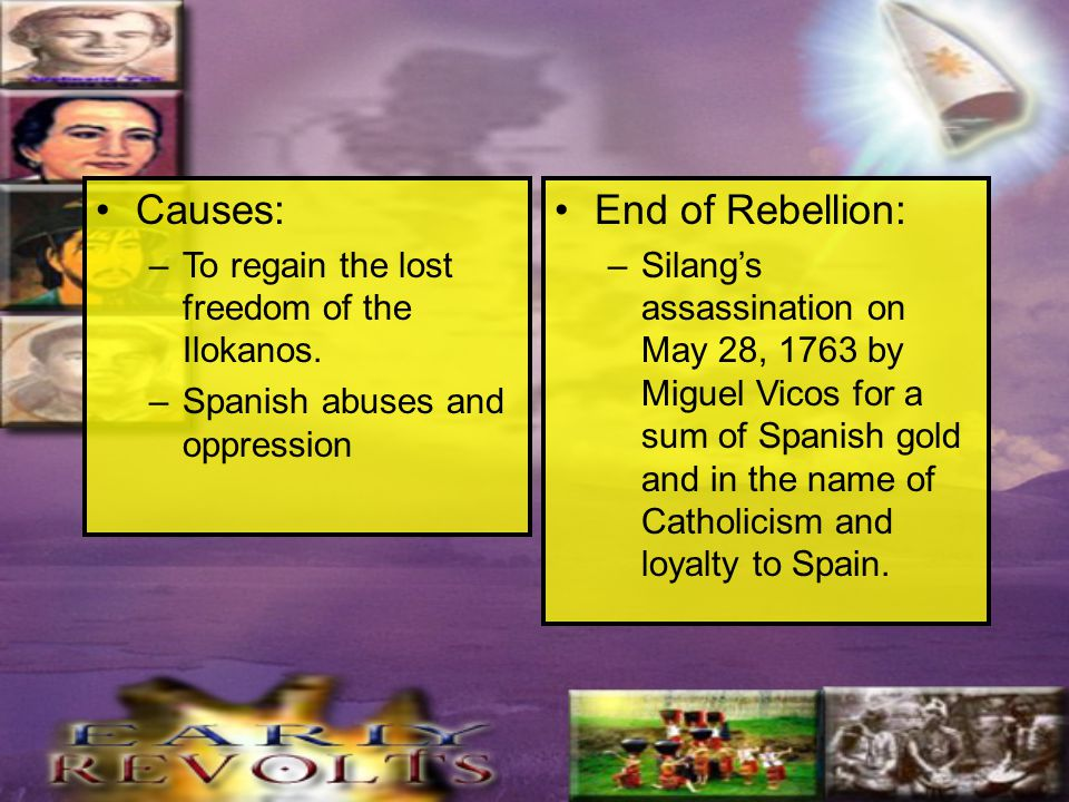 CAUSES OF FILIPINO REVOLTS - ppt video online download