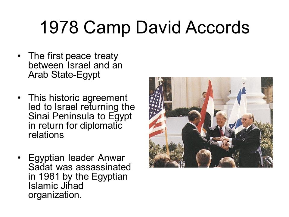The Benefits Of Peace Between Israel And Egypt Custom Paper