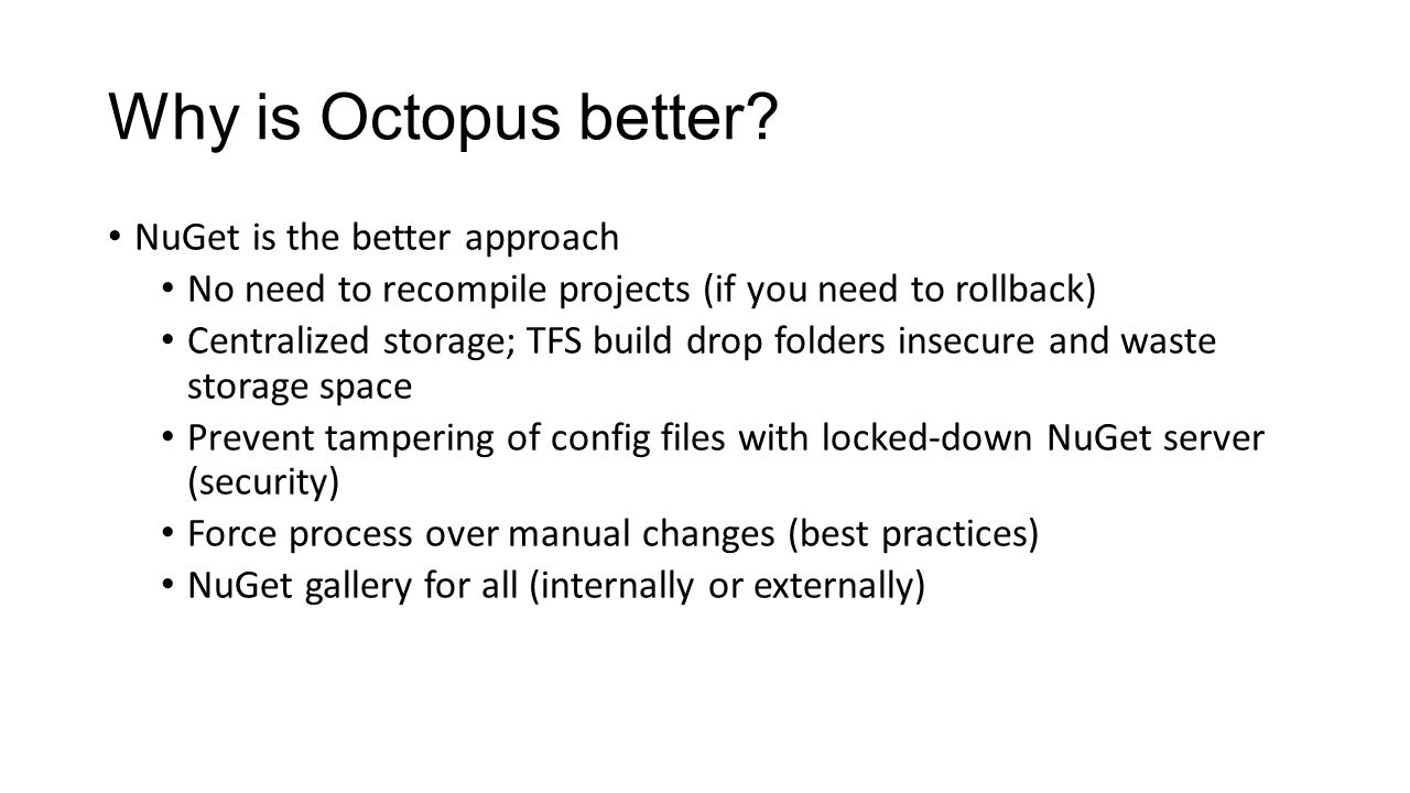 Automating Deployments with Octopus Deploy - ppt download