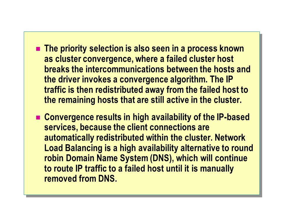 Module 8 concepts of a network load balancing cluster ppt download 46 the publicscrutiny Images