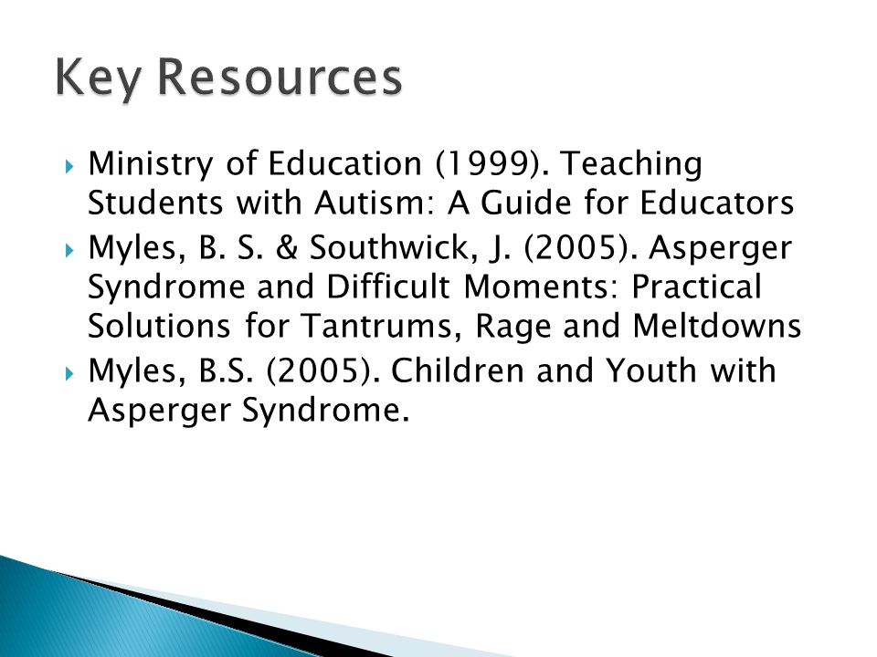 Strategies to Support Students with Autism - ppt video