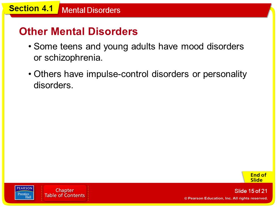 Other Mental Disorders
