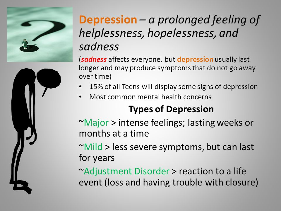 depression is a common mental disorder Major depressive disorder (mdd), also known simply as depression, is a mental disorder characterized by at least two weeks of low mood that is present across most situations.
