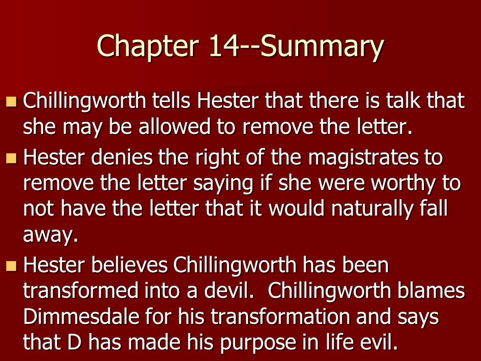 the scarlet letter chapter 14 summary fresh the scarlet letter chapter 14 summary cover letter 36957