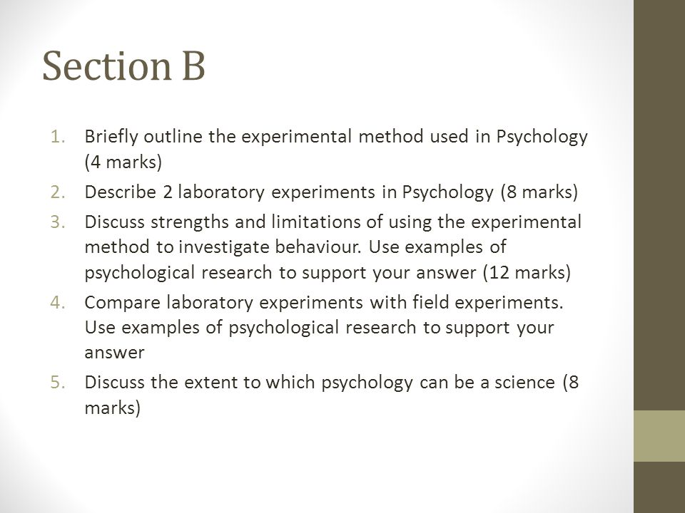 Quasi-experiment in psychology: definition & example video.