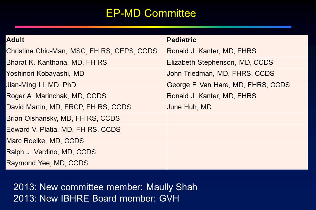 """First """"Third-tier"""" pediatric cardiology certification in USA - ppt ..."""