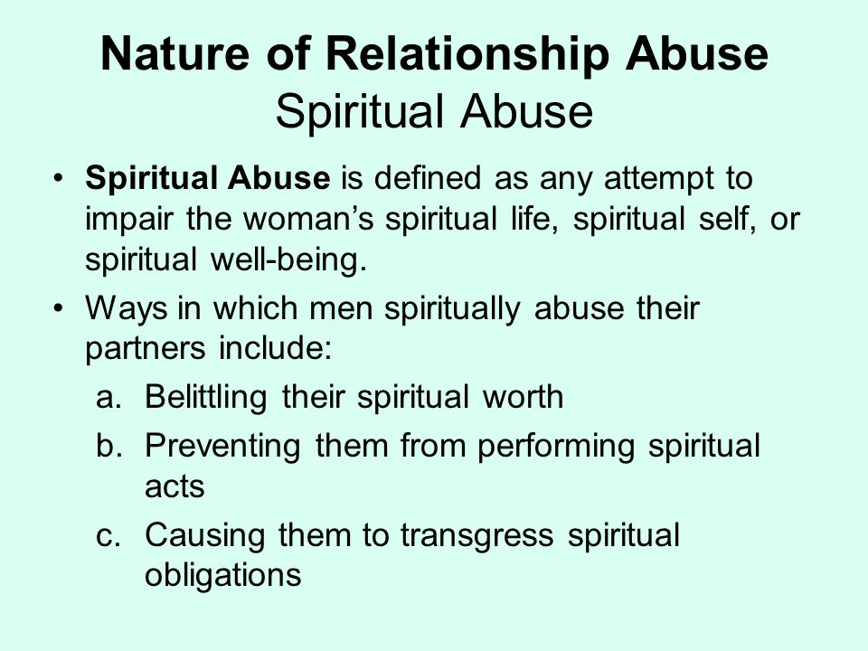 what does abuse mean in a relationship