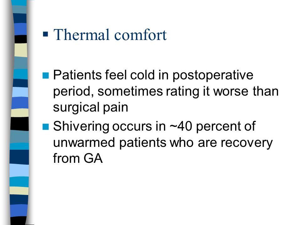 Perioperative Hypothermia - ppt download