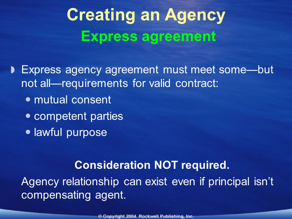 Lesson 8 Real Estate Agency Law Ppt Download