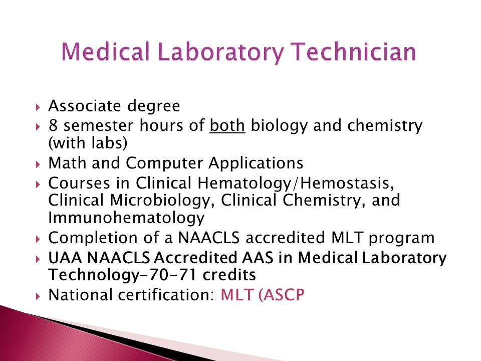 Outstanding Lab Technician Certification Mold - Administrative ...