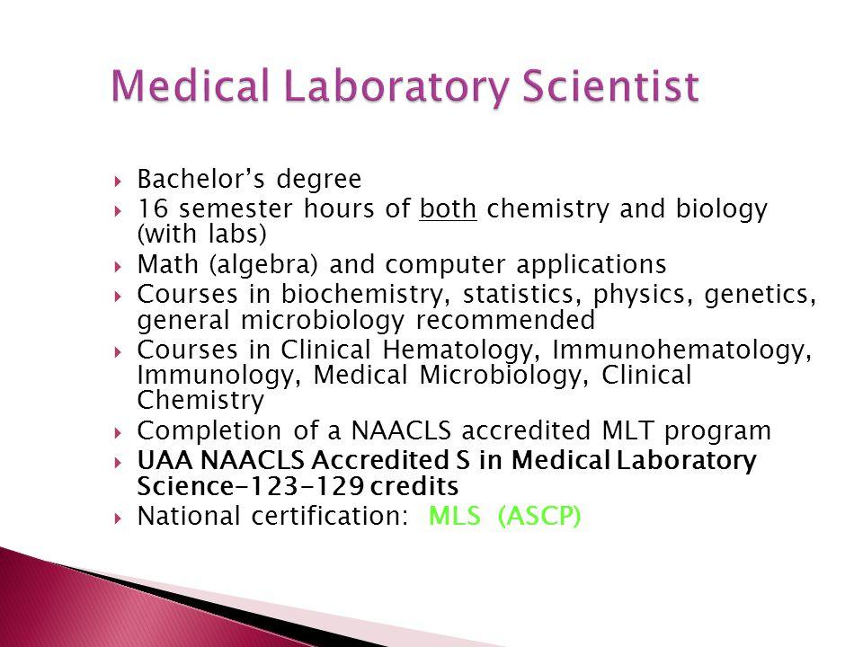Diagnostic Detectives: Medical Laboratory Professionals - ppt video ...