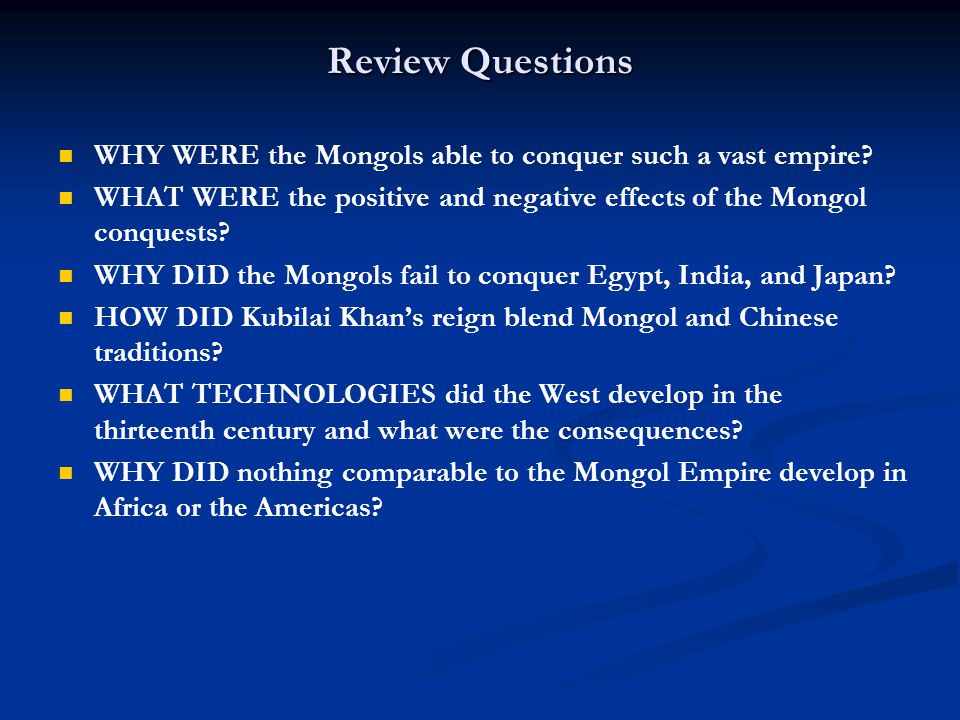 why did the mongol empire fall?