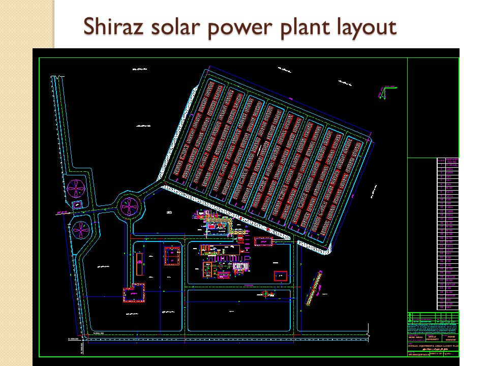 power plant layout drawings