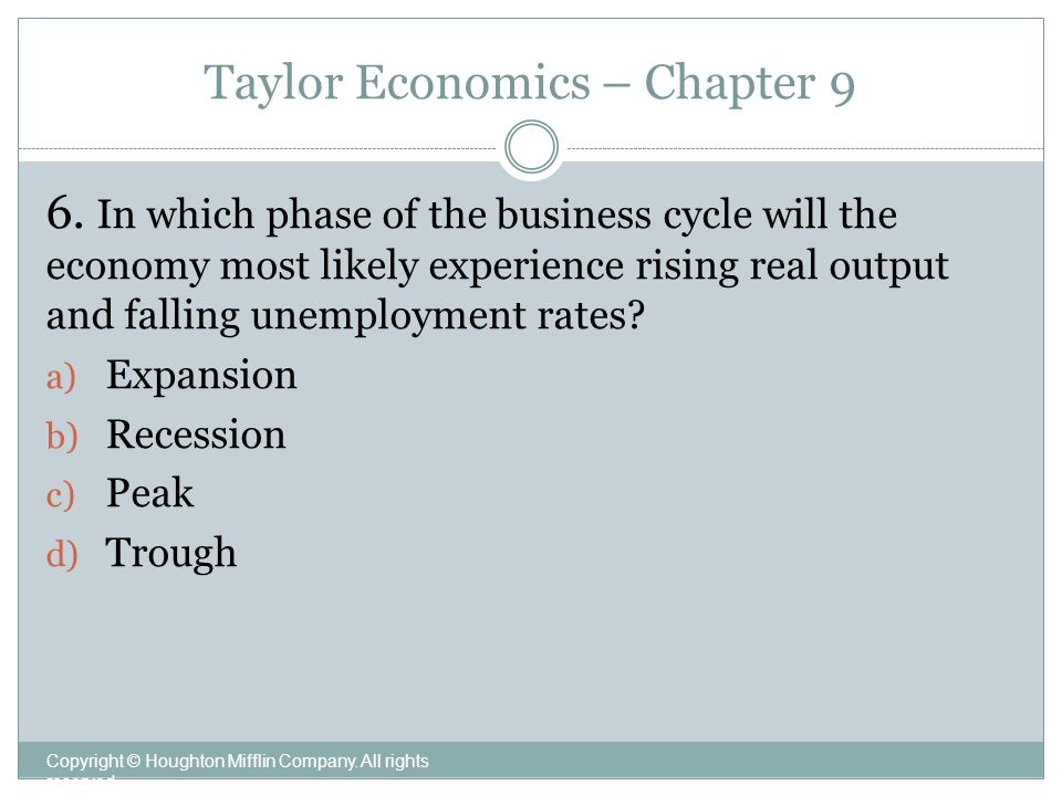 Business Cycle Unemployment And Inflation Ppt Video