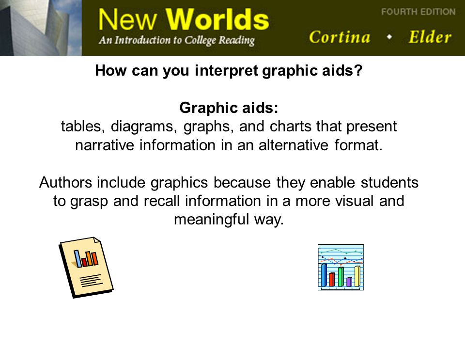 How can you interpret graphic aids