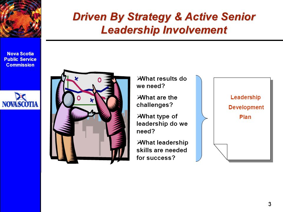 Driven By Strategy & Active Senior Leadership Involvement