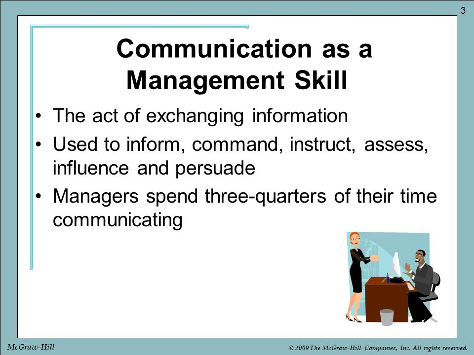 Communication as a Management Skill