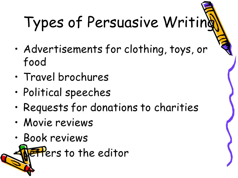 Thesis Examples For Essays Types Of Persuasive Writing Compare And Contrast Essay Examples For High School also Health And Fitness Essays Persuasive Writing Th Grade  Ppt Download How To Write A Essay Proposal