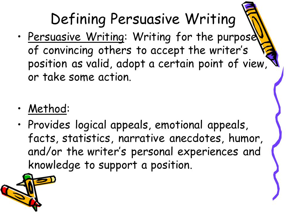 how to conclude a persuasive letter