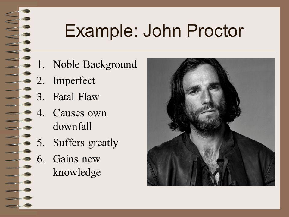 john proctor as a tragic hero worksheet