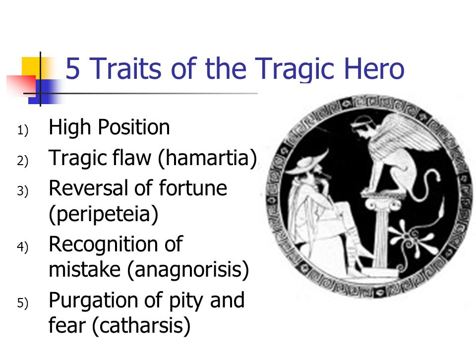 what are the qualities of a tragic hero