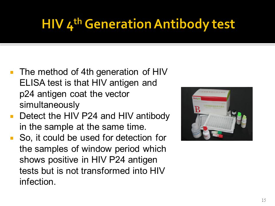 Diagnosis of HIV Infection - ppt video online download