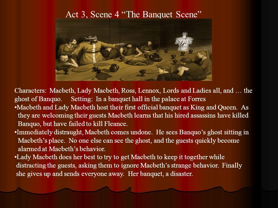 act 3 scene 4 summary macbeth