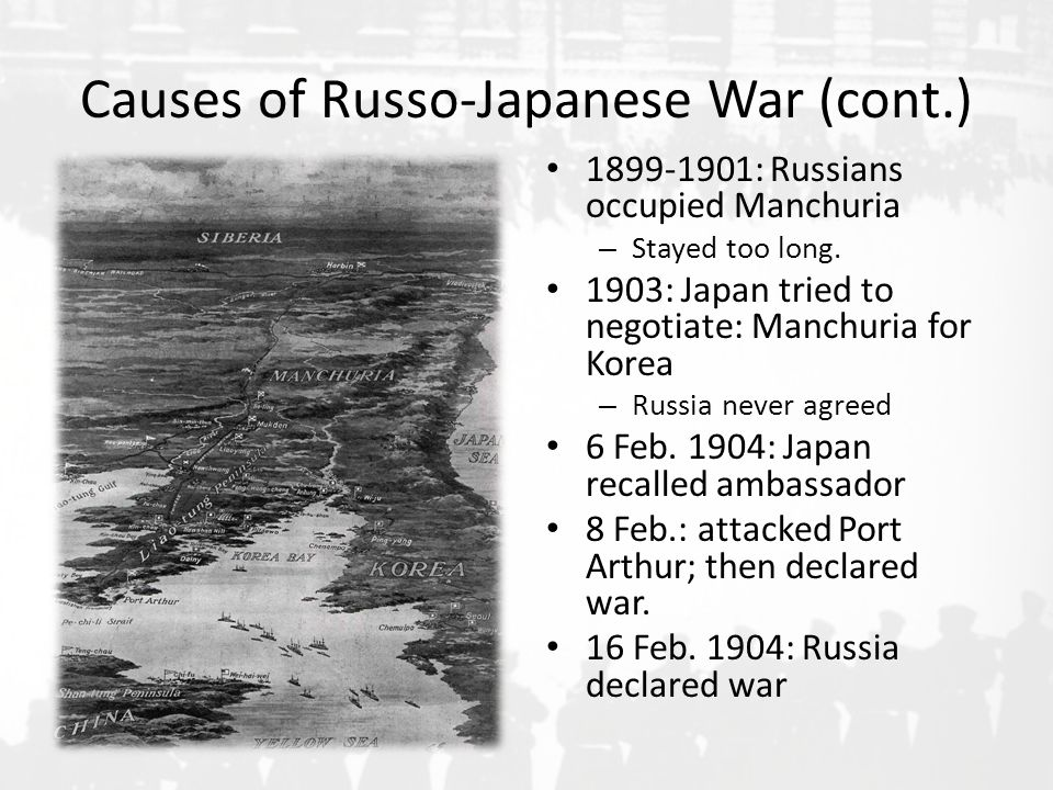 a letter to the czar from his officer during the russo japanese war This short item tells how a jewish surgeon in the tsar's army was able to trick the censorship and report gloomy news from the front during the russo-japanese war (1904-1905.