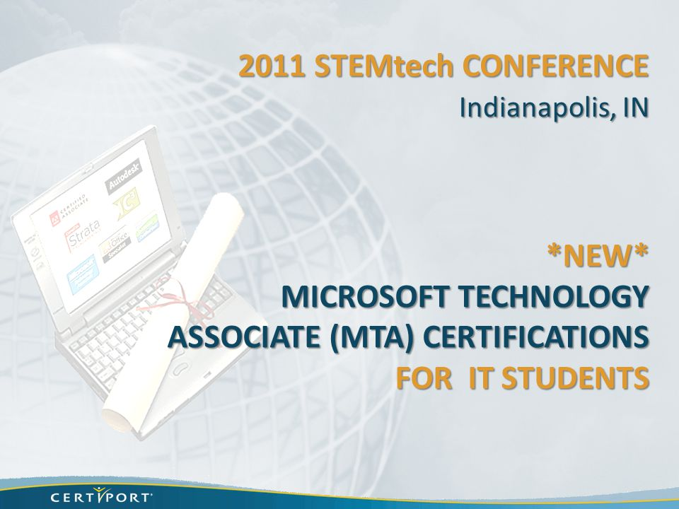 Microsoft Technology Associate Mta Certifications For It Students