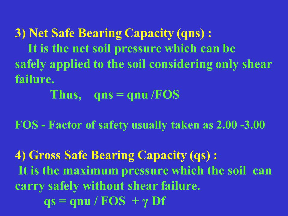Bearing Capacity Of Shallow Foundation - ppt download