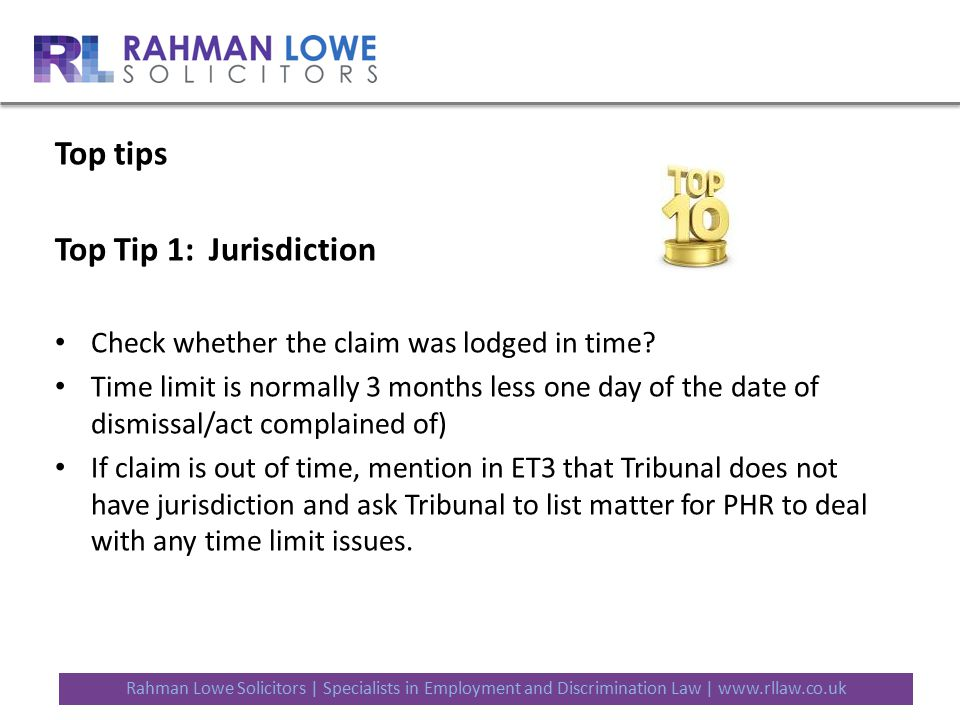 Top Tips For Defending And Settling Claims Ppt Download