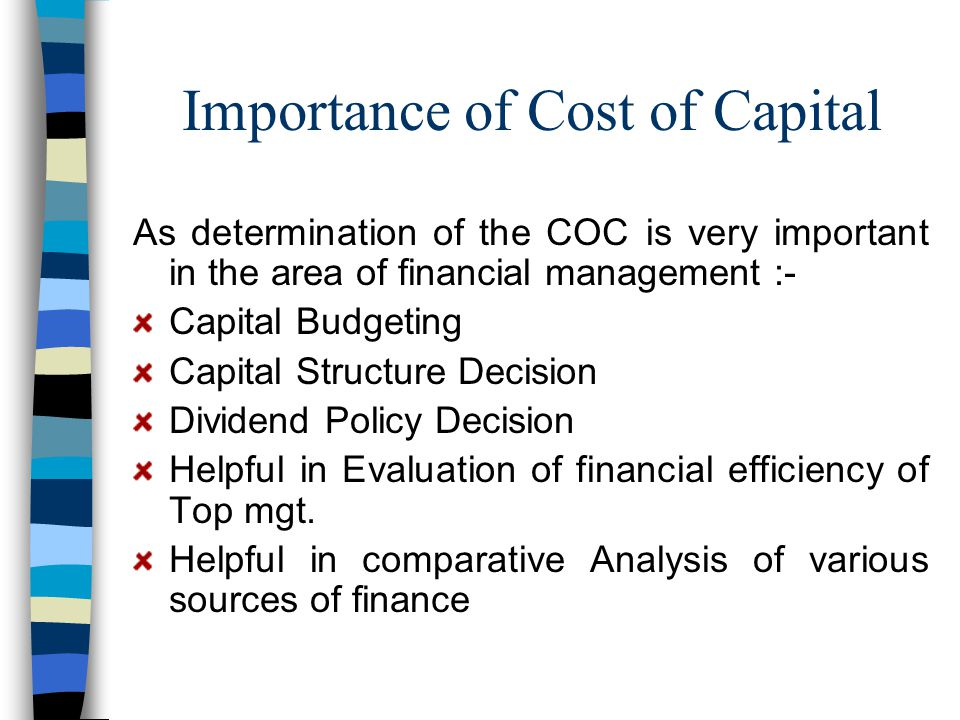 importance of cost analysis