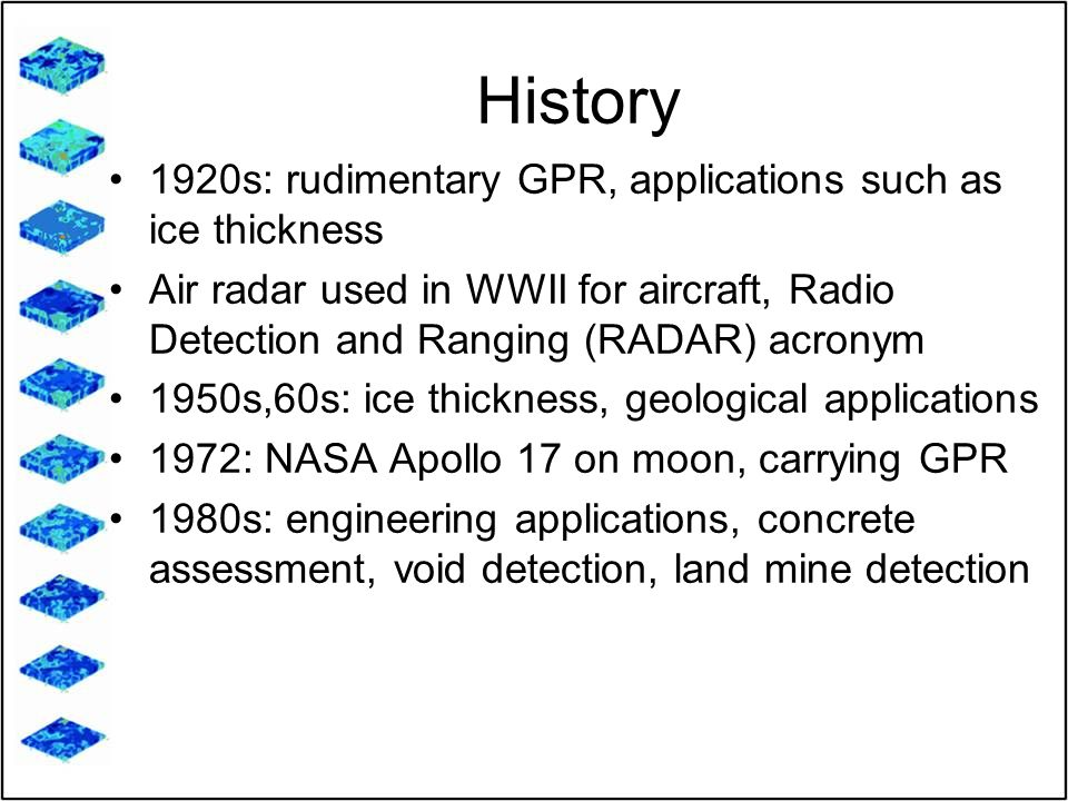 Introduction to Ground Penetrating Radar - ppt video online