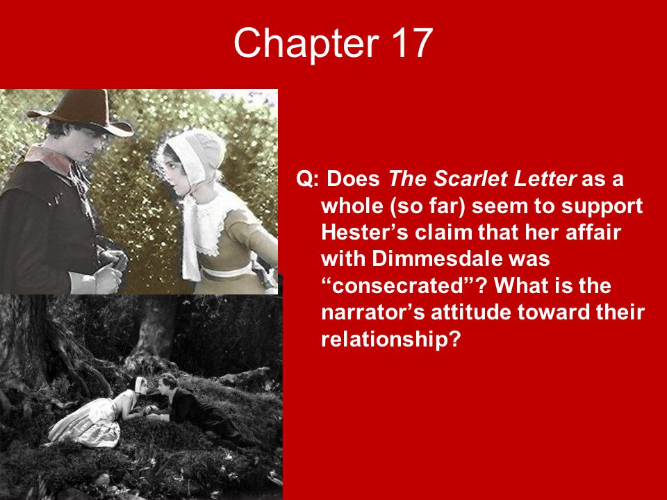 The Scarlet Letter Chapter 17 Summary   Top linemall final