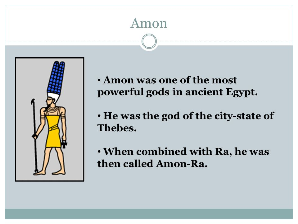 who is the most powerful egyptian god