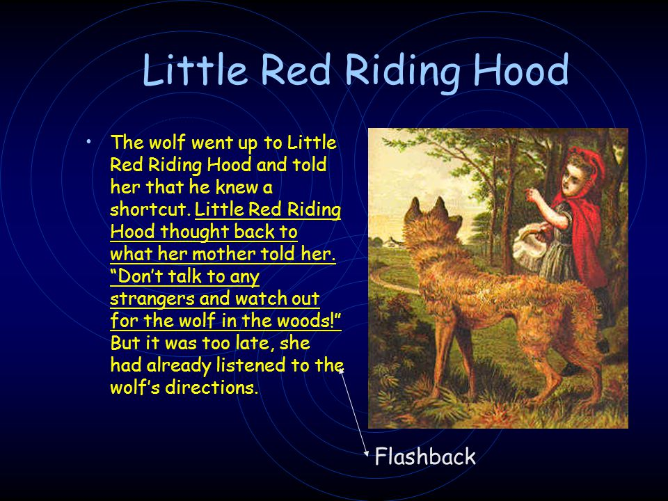 Little Red Riding Hood Flashback