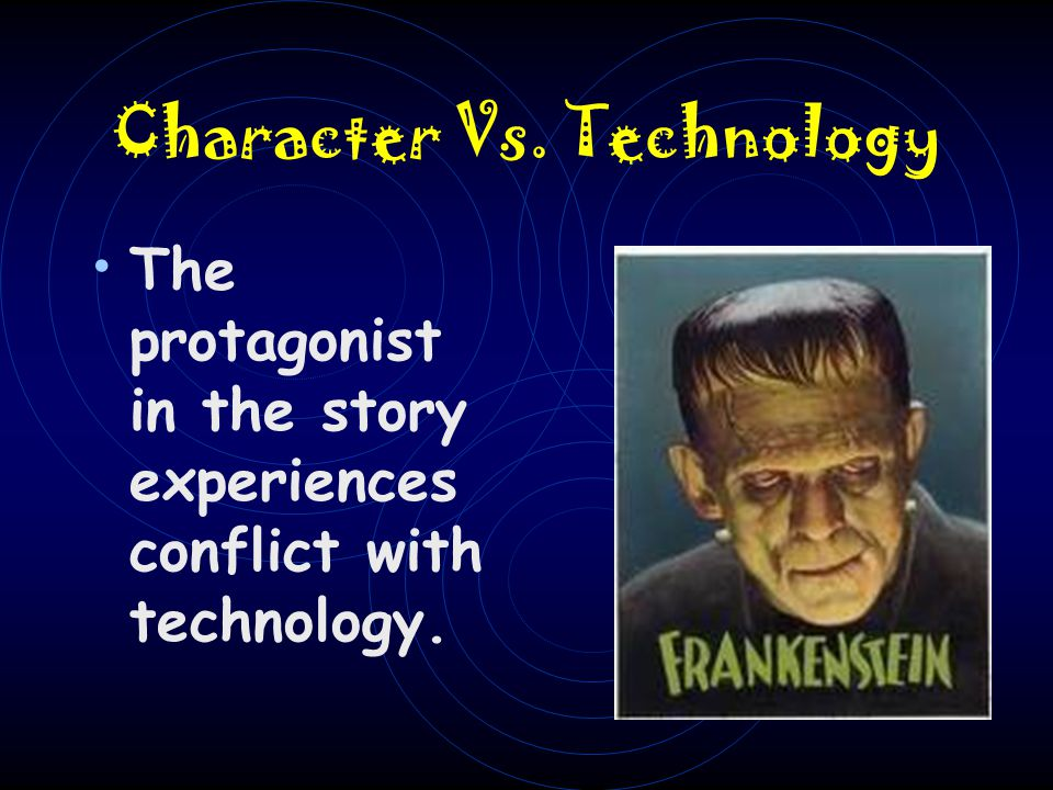 Character Vs. Technology