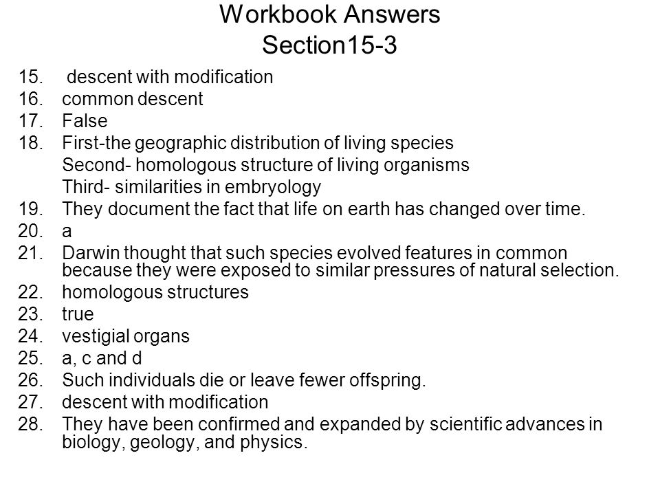 evolution unit darwin s theory of evolution ppt video online download rh slideplayer com AP Biology Reading Guide Answers Holtzclaw Biology Chapter 22