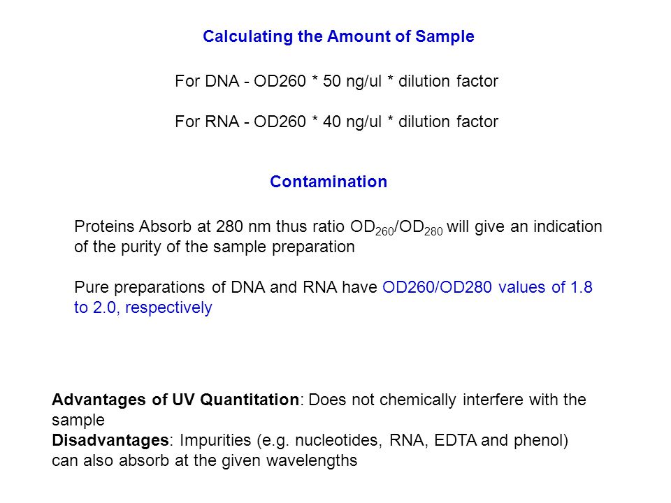 Easy resuspension and dilution of oligonucleotides.