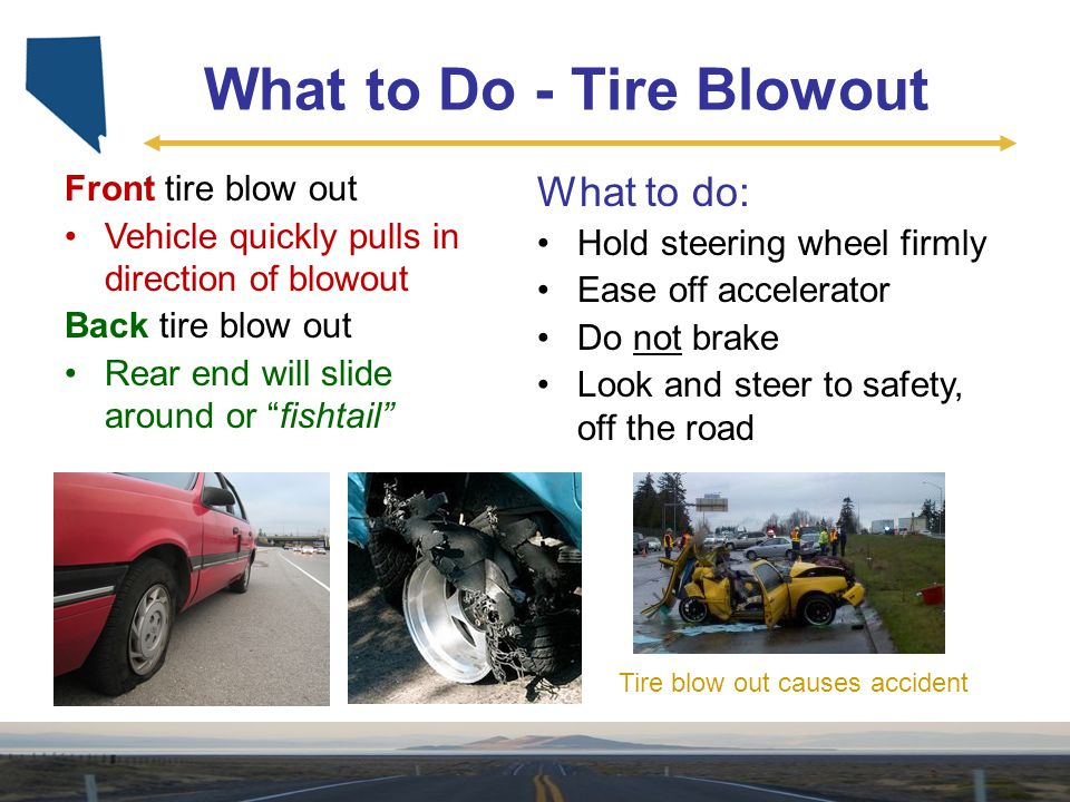 What to Do - Tire Blowout