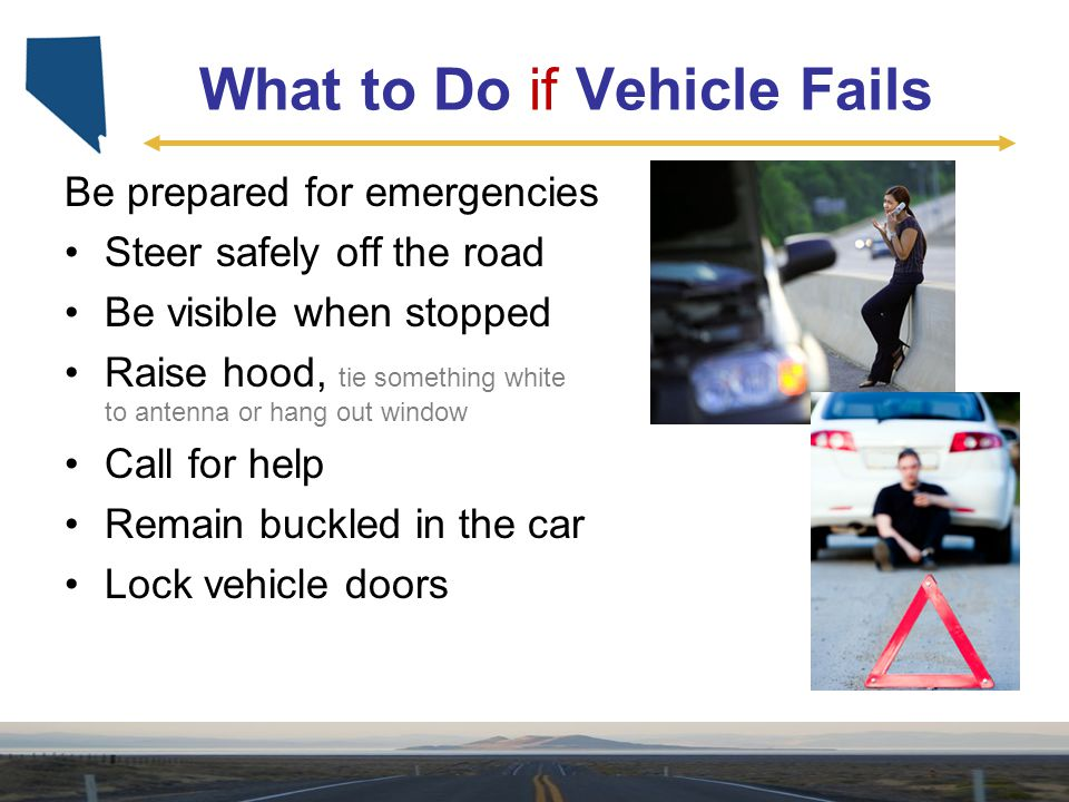 What to Do if Vehicle Fails