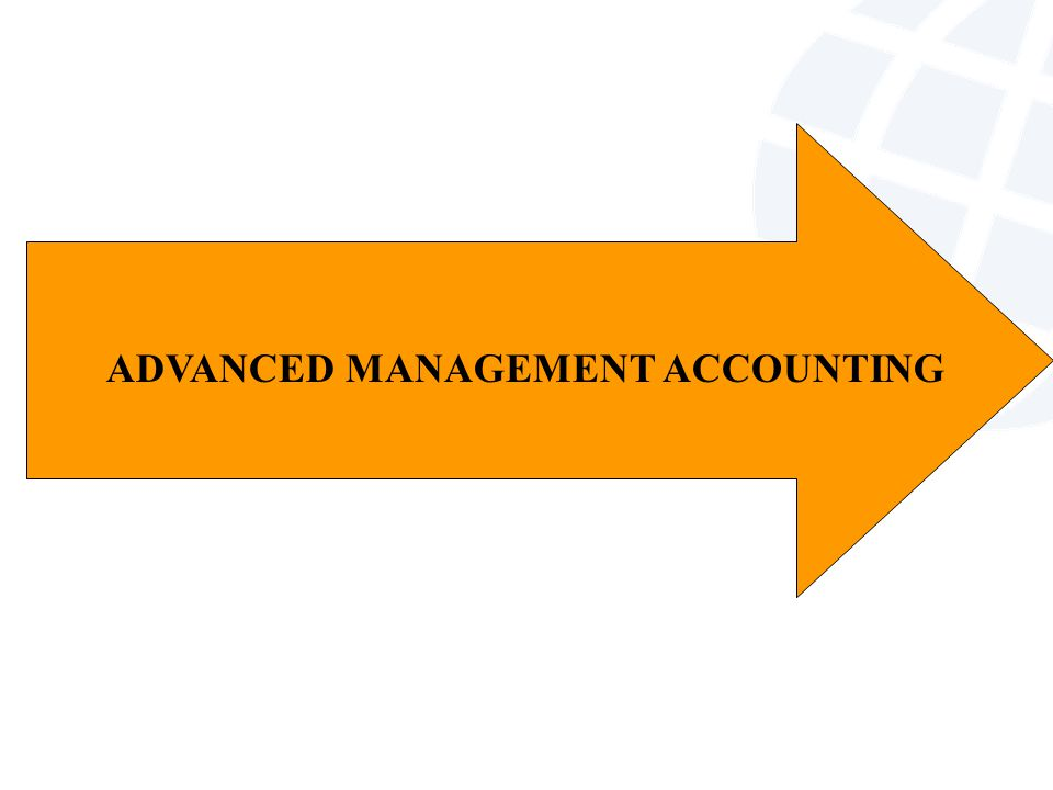 ADVANCED MANAGEMENT ACCOUNTING - ppt download